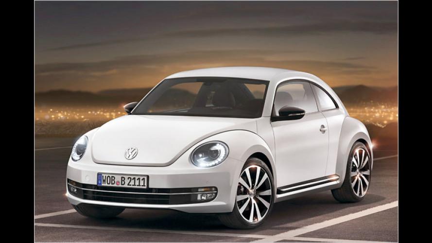 Preise des VW Beetle: 105-PS-Basisversion für 16.950 Euro