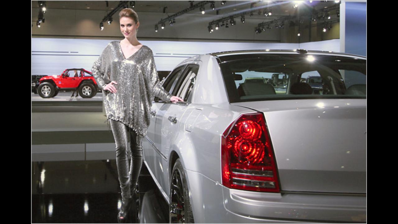 Aber die Chrysler-Ausstellungsstücke sind ebenso sehenswert