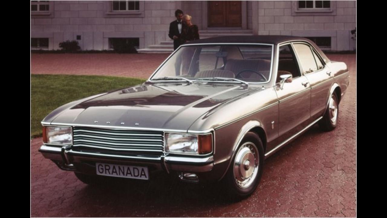 Platz 21: Ford Granada (7,6 Prozent)