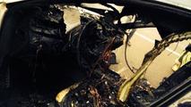 Maserati Quattroporte burns in Azerbaijan