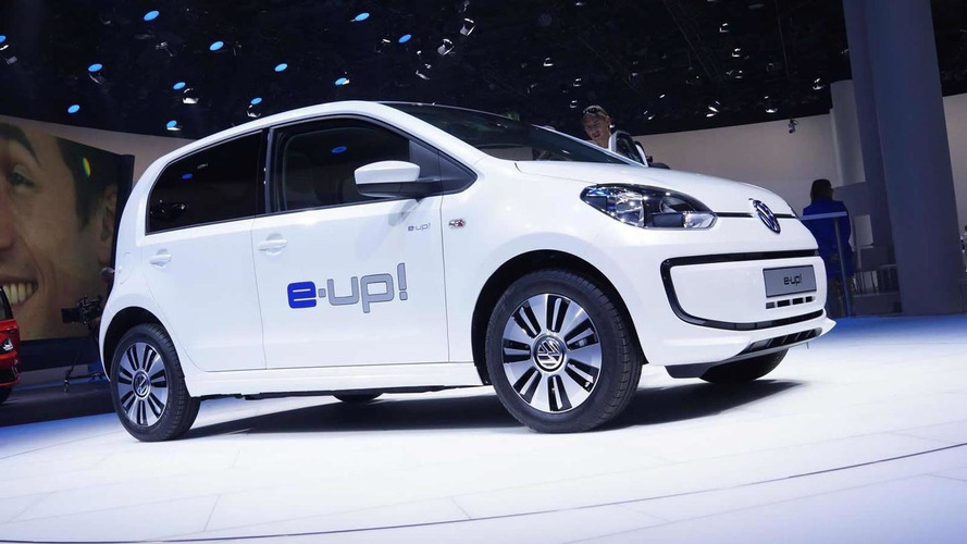 Volkswagen e-up! pricing announced (UK), kicks off at 19,250 GBP