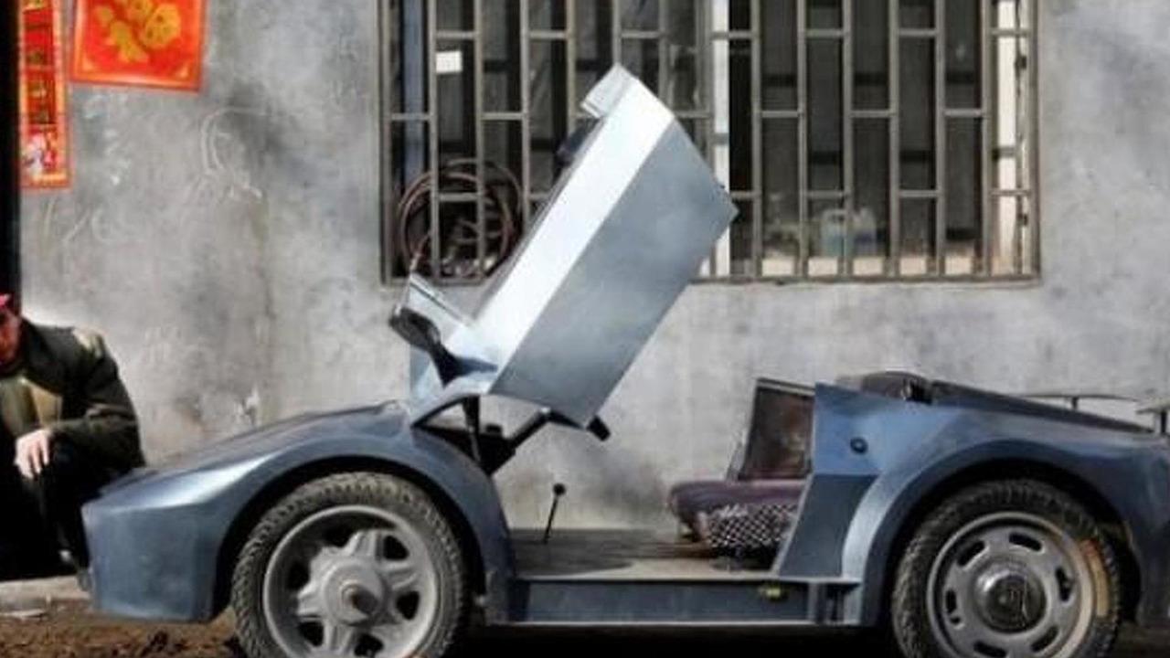 Lamborghini Aventador mini replica