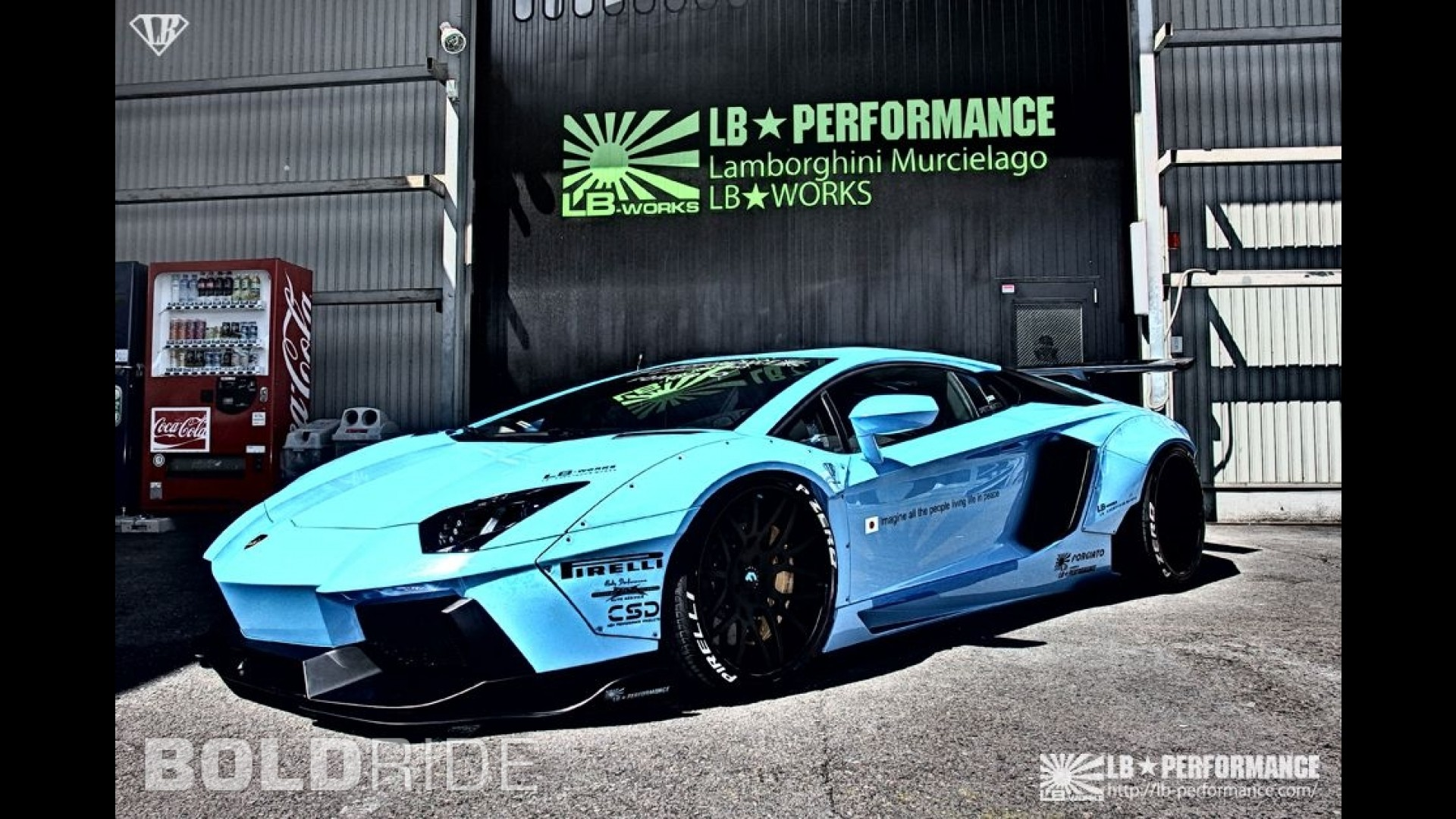 Тюнинг Lamborghini Aventador LP720-4 от Liberty Walk