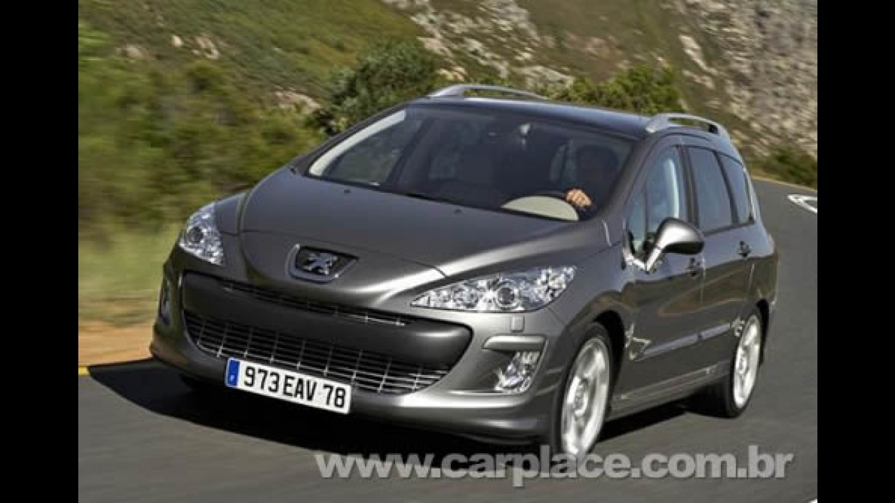 Peugeot apresentará Novo 308 SW em Genebra - Veja fotos do novo modelo