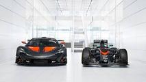 McLaren P1 GTR F1 Giydirme