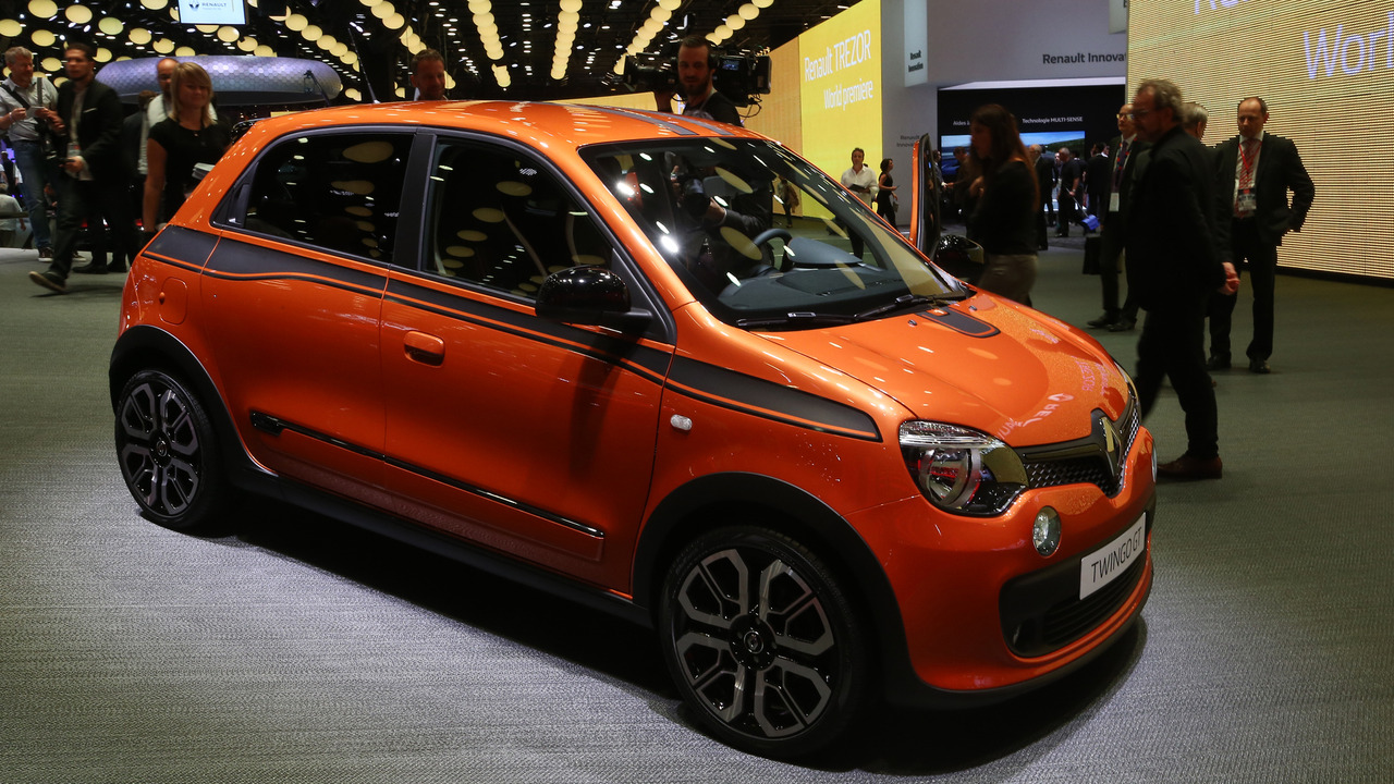 2016 renault twingo gt paris motor show photos. Black Bedroom Furniture Sets. Home Design Ideas