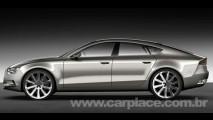 Audi Sportback Concept: Vazam imagens do esportivo inspirado na Lamborghini