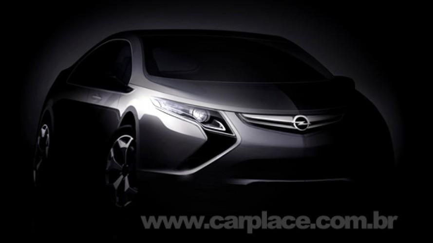 Mais um elétrico? Opel vai apresentar o Ampera 2010 no Salão de Genebra