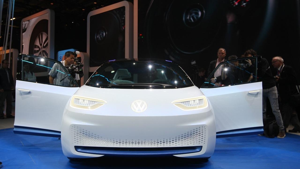 Volkswagen I.D. konsepti - Paris Otomobil Fuarı
