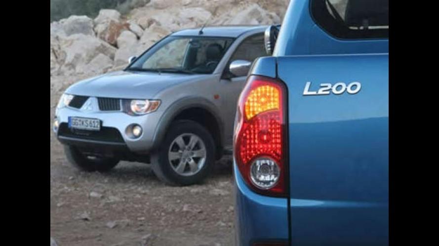Nova Mitsubishi L200 Triton será lançada em novembro