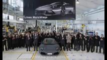 Lamborghini comemora produção da Murciélago nº 3 mil