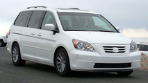 2008 Honda Odyssey Facelift Spy Photo