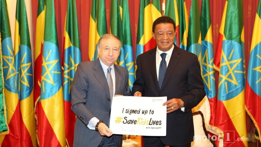 La FIA veut promouvoir la sécurité routière et le sport automobile en Afrique