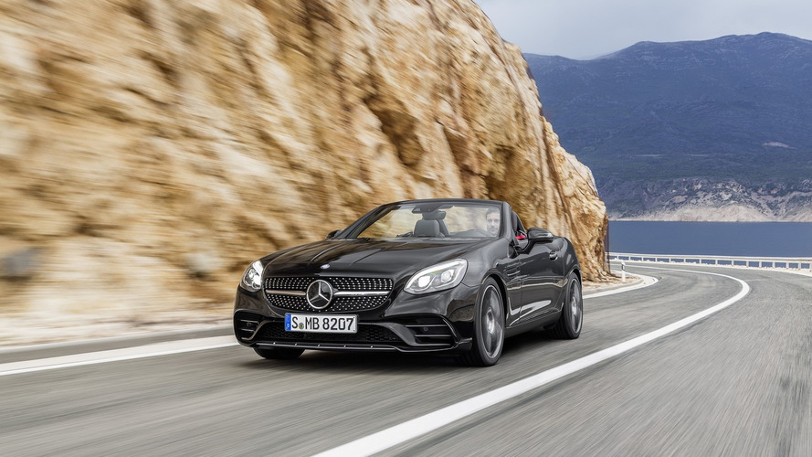 Mercedes SLC detailed in five presentation videos
