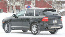 Porsche Cayenne Diesel spy photo