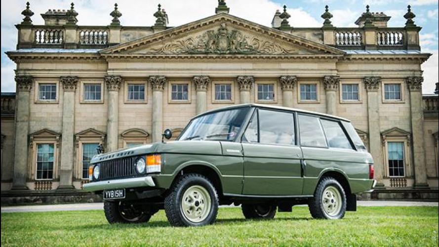 Range Rover, all'asta la