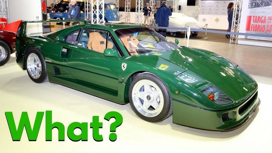 Does This Ferrari F40 Make You Green With Envy?