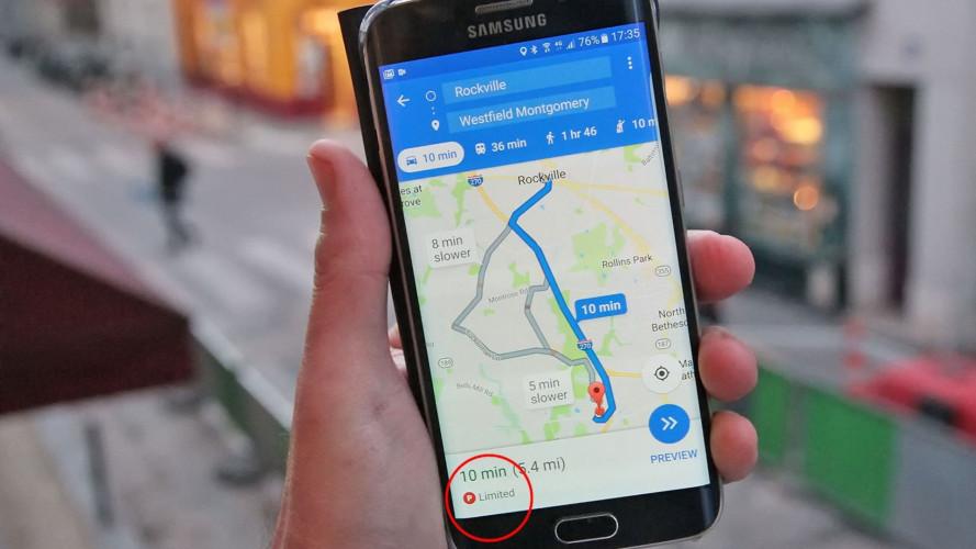 """Google presenta le """"previsioni del parcheggio"""""""