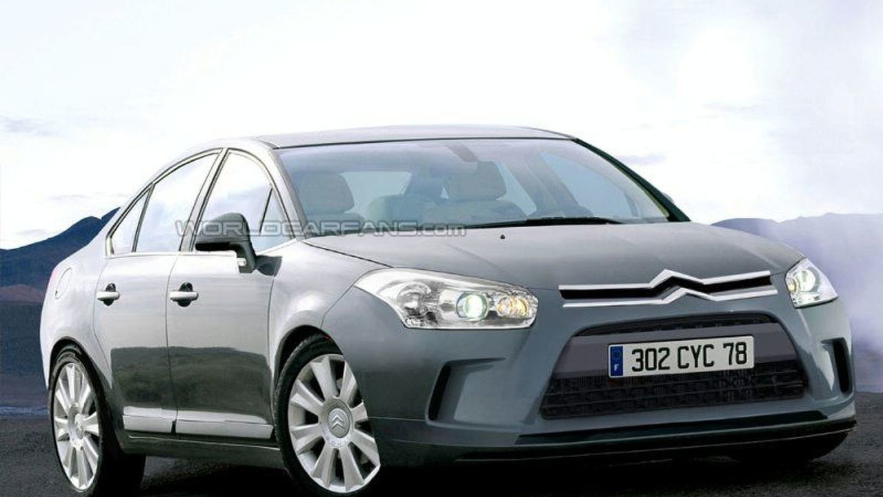 Spy Photo: Citroen C5 - Artist Impression