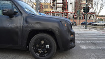 2015 Jeep entry-level crossover spy photo