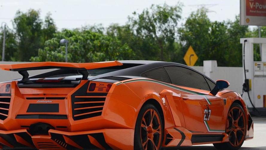 Lamborghini Gallardo Galaxy Warrior by ATS is an eyesore