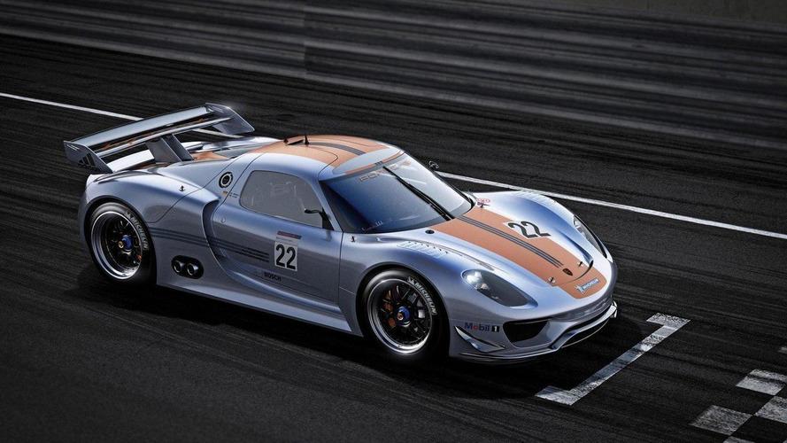 Porsche 918 RSR design process detailed [video]