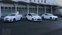tuned Mazda2, Mazda6 & RX8 Concepts