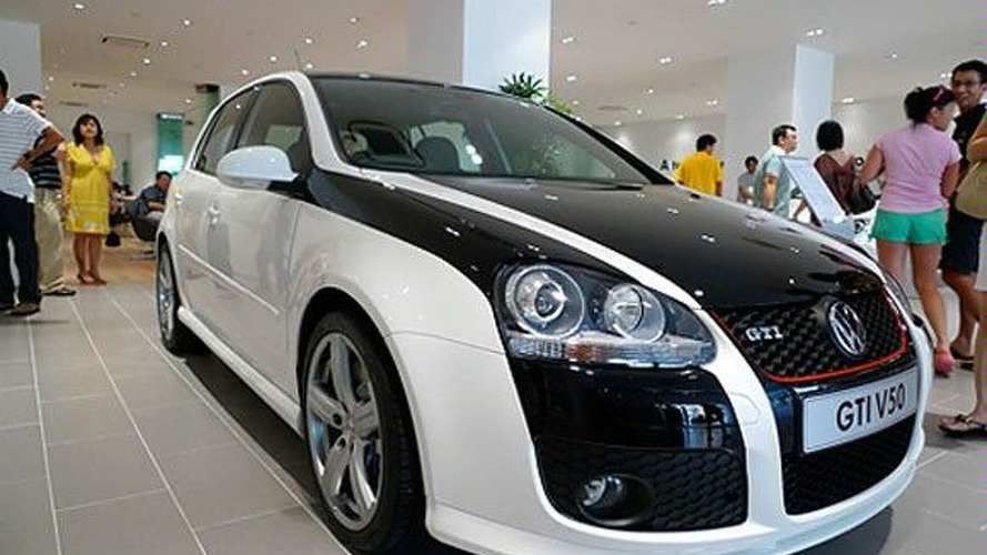 VW Golf GTI V50 Released in Asia