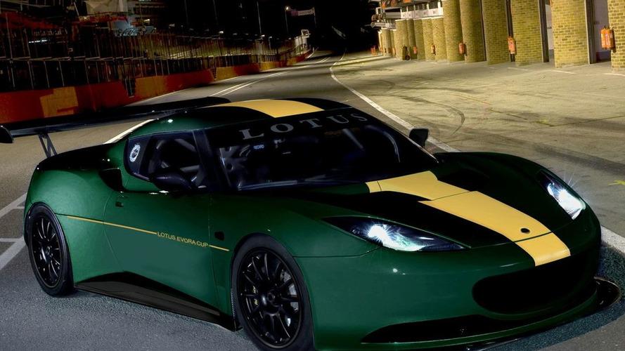 Lotus Evora Race Car and Evora Cup Series Announced