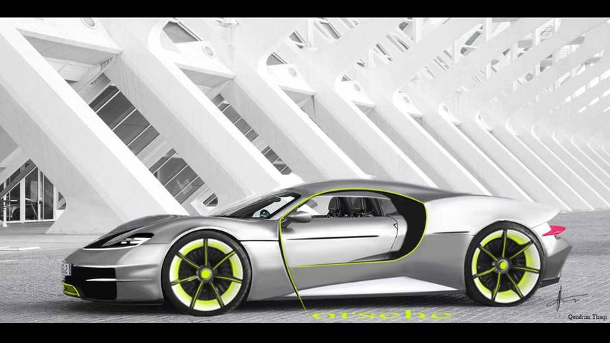 Could This Porsche Fan Render Be A Suitable 918 Spyder Successor?