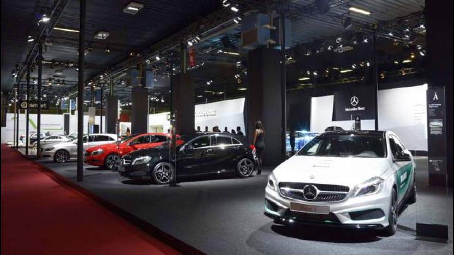 Motor Show 2012, offerte speciali per l'acquisto di Mercedes e smart