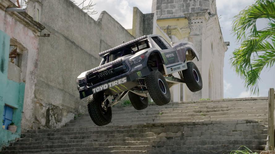 Watch BJ Baldwin's Trophy Truck Storm Through Havana