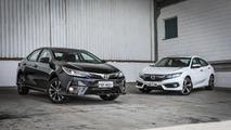 Comparativo 2017 Toyota Corolla x Honda Civic