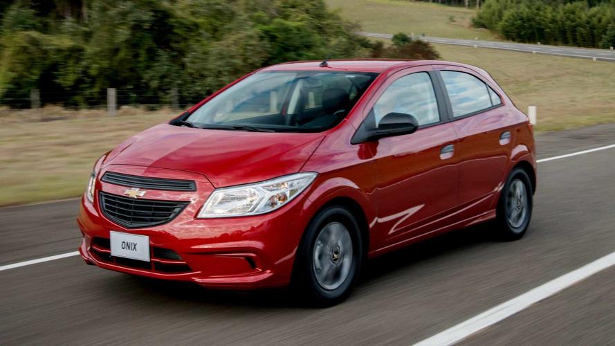 Chevrolet eleva preços de Onix, Prisma e Cruze