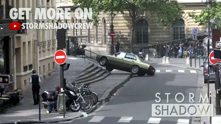 BMW 5 Series Mission Impossible Stunt