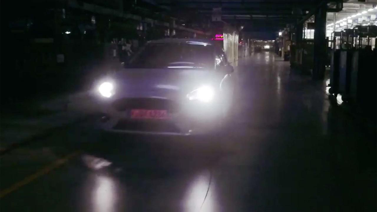 Ford Fiesta ST 2017 teaser