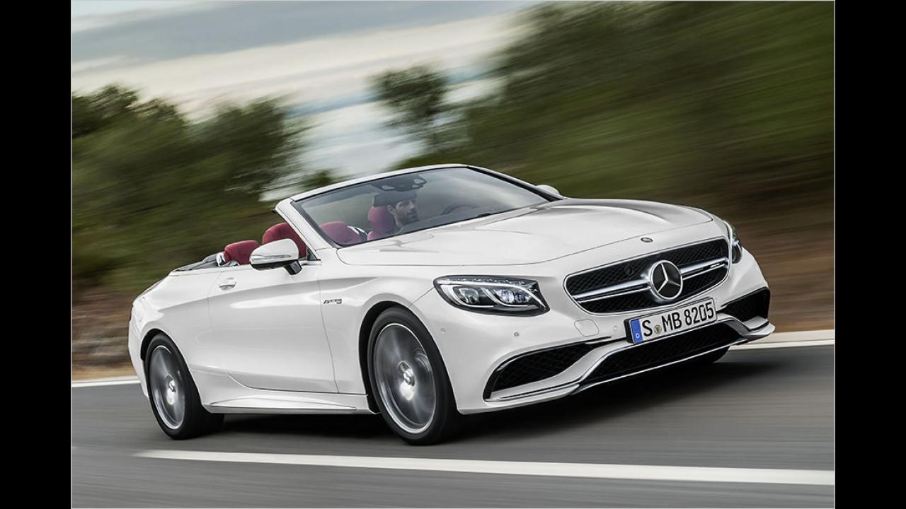 8. Platz: Mercedes-AMG S 63