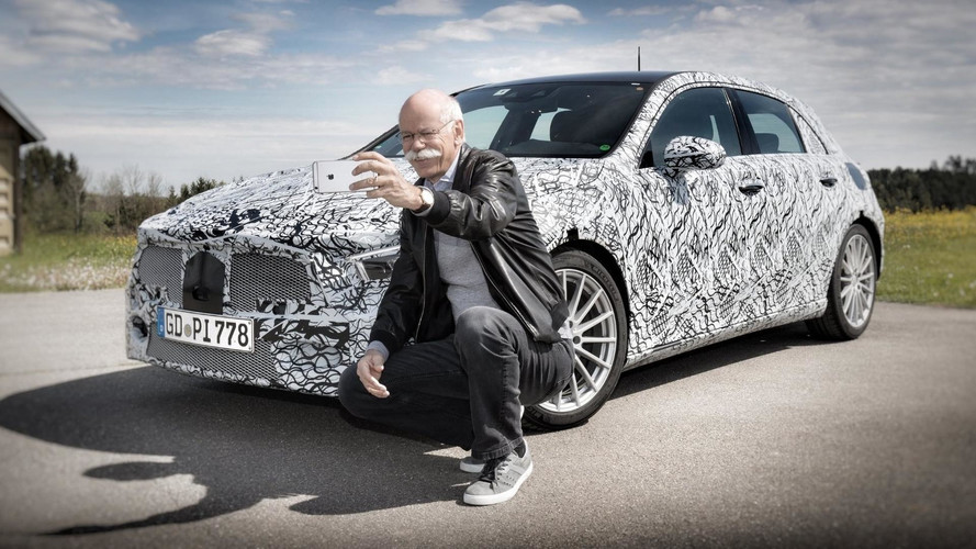 La nouvelle Mercedes Classe A est sur Linkedin