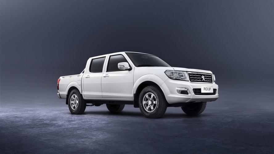 Peugeot Pick Up é a nova média da marca. Baseada na Frontier 1999