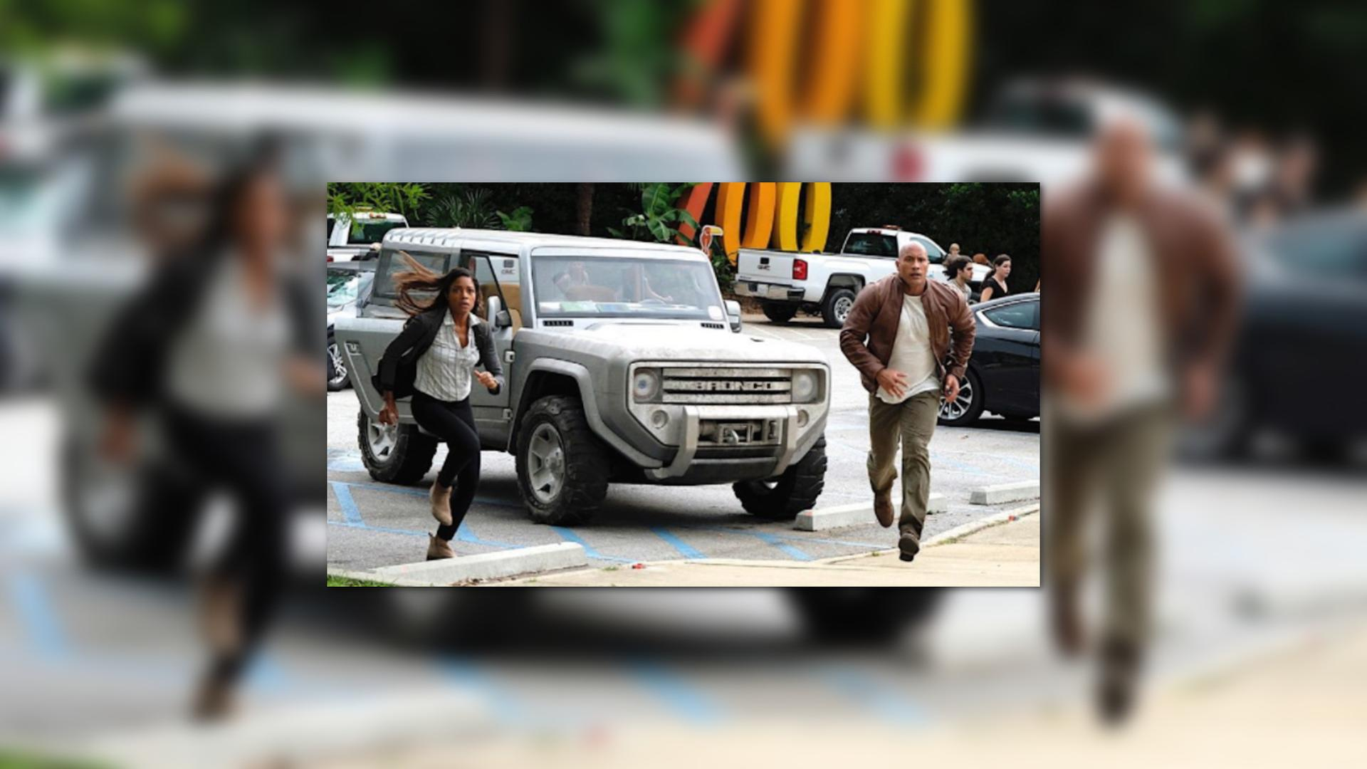 Ford Bronco Concept Will Co-Star In The Rock's New Rampage ...