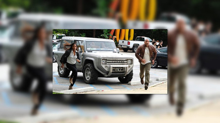 Ford Bronco Concept Will Co-Star In The Rock's New Rampage Movie