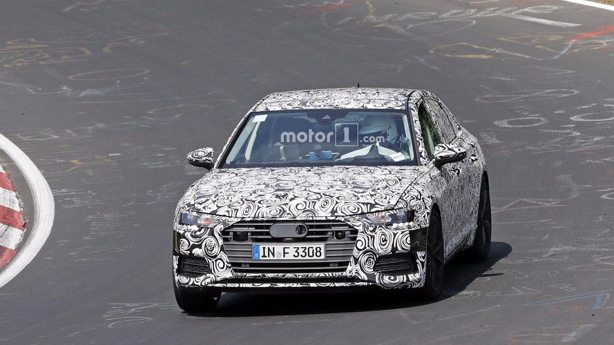 2019 Audi S6 spy photos