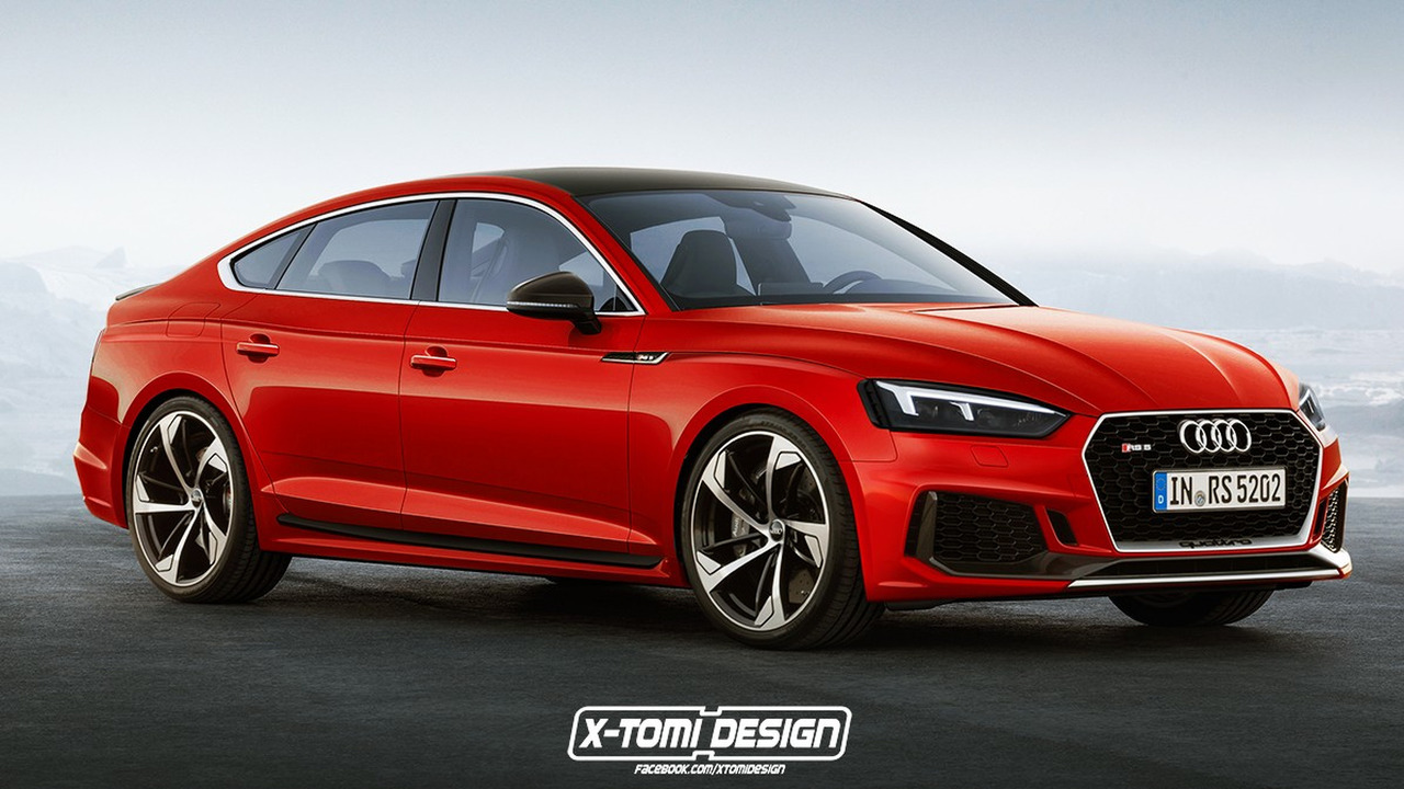 Stare At These Audi Rs5 Shooting Brake Sportback
