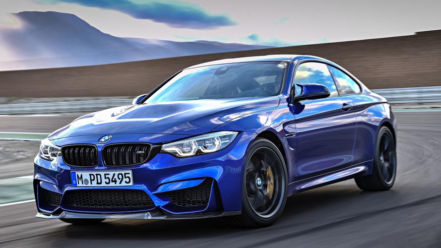 BMW apresenta M4 CS, brinquedo de pista para as ruas