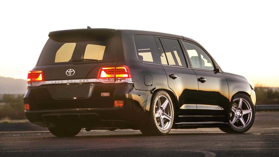 Toyota Land Cruiser Speed Record photo