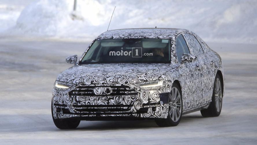 Audi S8 2019, fotos espía