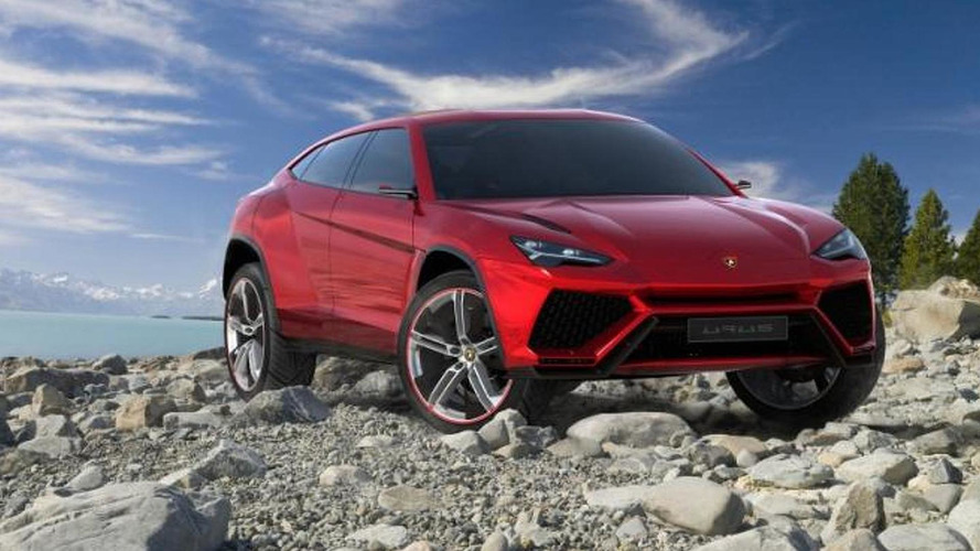 Lamborghini Urus SUV leaked