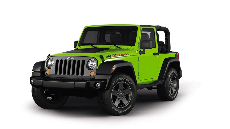 Jeep Wrangler Mountain special edition revealed