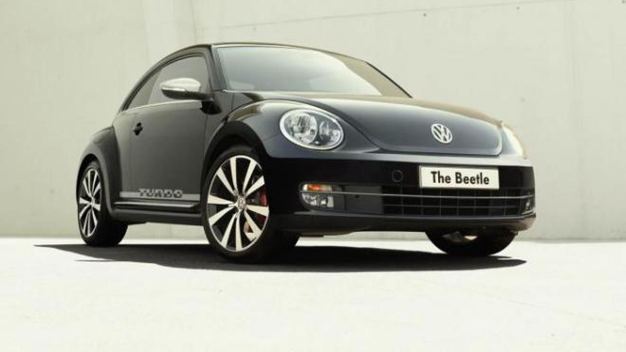 Volkswagen Beetle Turbo Black