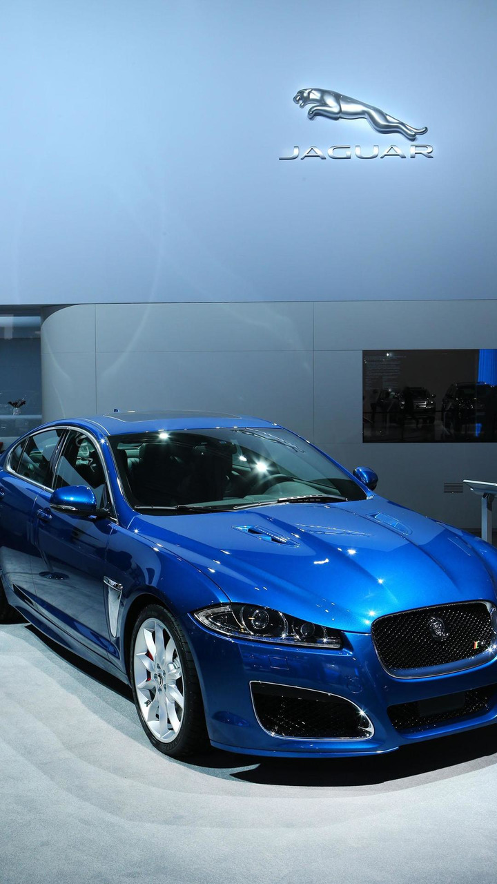 Jaguar XFR with Speed Package live in Moscow 30.8.2012
